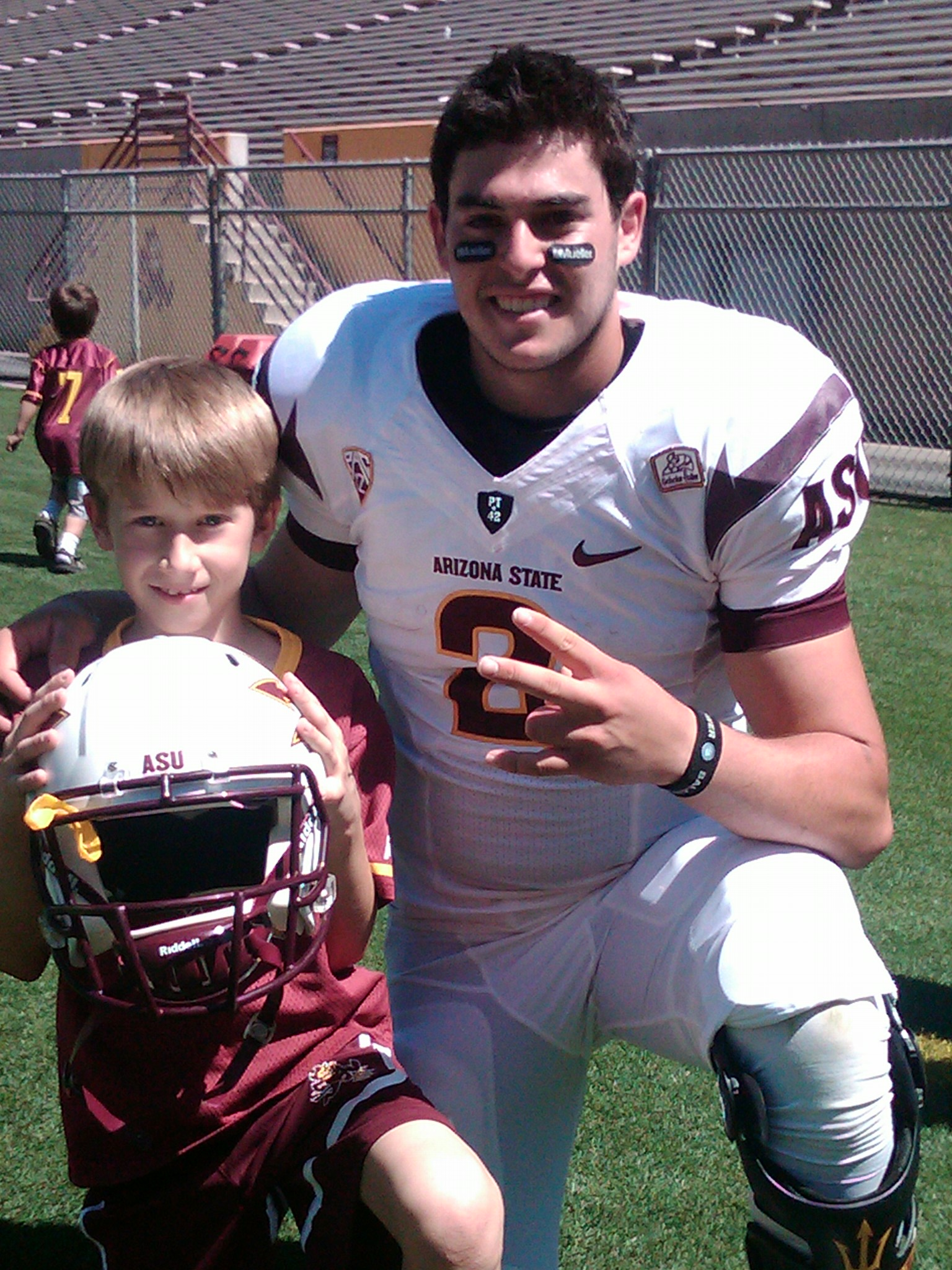 Josh with Mike Bercovici of ASU